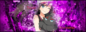Pokemon Black/White Touko/Hilda by Nirvaxstiel