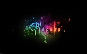 Placebo typography wallpaper by DittyDots
