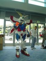 AX 2005 - God Gundam by FirefuryAmahira