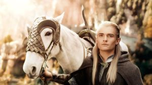 Photorealistic Legolas (Orlando Bloom) LOTR by push-pulse