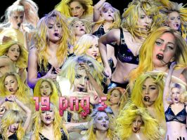 lady gaga 19 png monsterball by DIGOGAGA