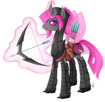 Pink Changeling by chris9801