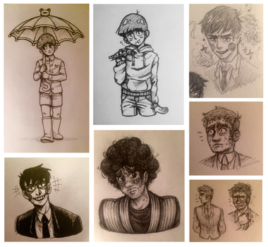 Mob Psycho 100 Art Dump by theanimemaster2