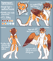 sparrow ref 2k14 by sparrowkeets
