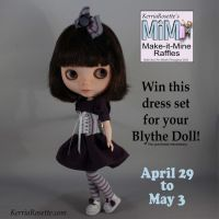 Win a Dress Set for Your Blythe Doll by KerriaRosette