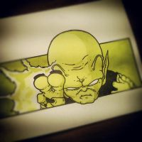 KING PICCOLO 2 10x15 by chocolatePulp