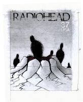 Stamps - Radiohead. by princepoo