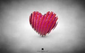 Split Heart by almahy