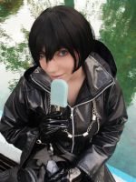 Xion Cosplay - Sea Salt ice cream by LiryoVioleta