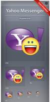 Icon Yahoo Messenger by ncrow