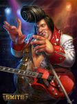 Official Smite Bacchus Elvis Skin by PTimm