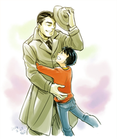 Billy and C.C.Batson by Sii-SEN