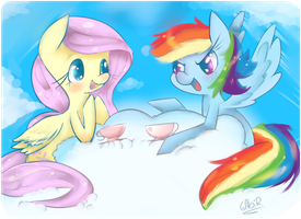 yay! flutterdash! by gmt-Gabir