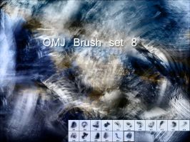 OMJ Brush Set 8 by OldManJames