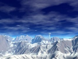 Over The Mountains by someole3d