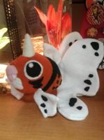 Seaking Plush by Vulpes-Canis