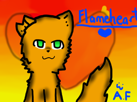 Request- .:Flameheart:. by Azura-Kat