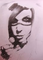 Andy Biersack Work In Progress by Tropical-Rain