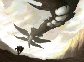 Shadow of the Colossus Fanart by zekitty