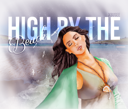 High By The Beach Illustration by BuseGG