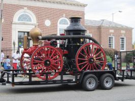 Old Fire Truck At Parade by kdawg7736