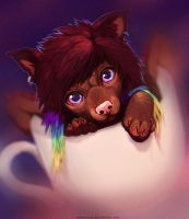 Teacup by TamberElla