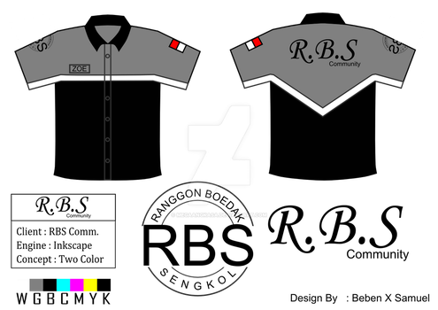 [[Project]] RBS Comm. Shirt Design by Megaangkasa