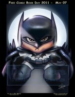 TOYART_BATMAN1_PAINTING by CrisDelaraArt