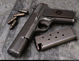 3Russian Tokarev TT by VladiT