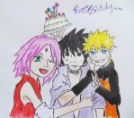 Happy Birthday Sasuke !! by pagesofmylife