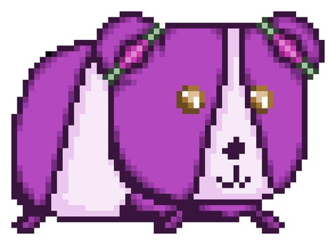 Lavender Guinea Pig - Request by GildedMelody
