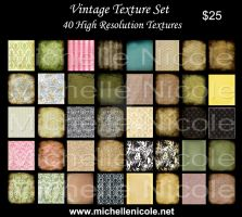 Vintage texture set 5 by chupla
