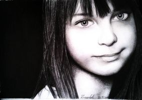 Pencil Portrait by mazdisna