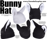 Bunny Rabbit Hat by KayPikeFashion