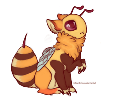 Bee Baby-SOLD by FourDirtyPaws