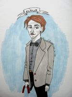 Young Dumbledore by finnarts