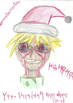 X-Mass Ben Drowned by DemonGamer123