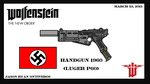 Wolfenstein The New Order (Hand gun) (Luger P60) by fORCEMATION