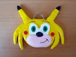 Chris Chan Sonichu Medallion Replica by chowgood