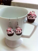 Chocolate Cupcake Set by JennyLovesCrafts