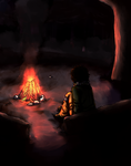 Around The Bonfire by Rheth-Sheth