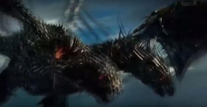 Dragonstorm from transformers 5 by Mrspringy1997