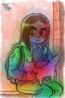Rainbow Stacey by Milkinashoe