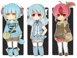 [CLOSED] Pokegijinka Adopts by WanNyan