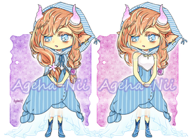 Adoptable on auction - Chiri by Ageha-Nii