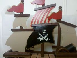Jolly Roger Sails by tink502