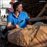 The woodcarver 02 by Markotxe