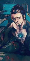 The Avengers : Tony Stark by fujimot0