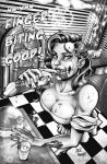 Zombies 2 pin up by StevenHoward