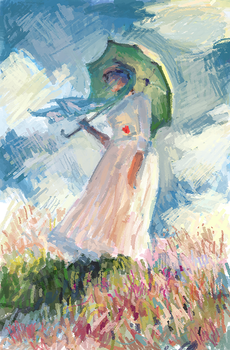 Practice - Claude Monet 1 by rainytown